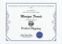 perfect dip certificate
